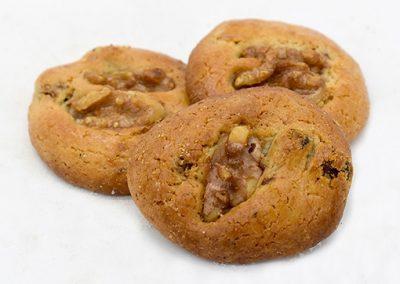 Tortitas de pasas y nueces
